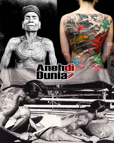 sejarah asal mula tato